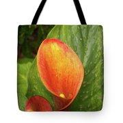 Orange Calla Mix Tote Bag