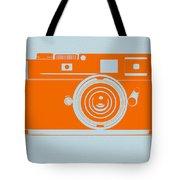 Orange Camera Tote Bag by Naxart Studio