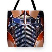 Orange Chevrolet Grille Tote Bag