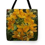 Orange Cluster Tote Bag