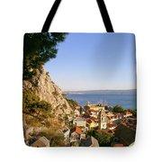 Orange Coastal Sunset Tote Bag