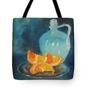 Orange Complement Tote Bag