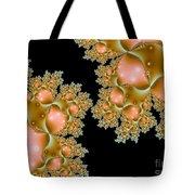 Orange Corals Tote Bag