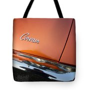 Orange Corvair Tote Bag