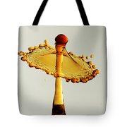 Orange Crown 9 Tote Bag
