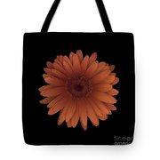 Orange Daisy Front Tote Bag