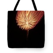 Orange Firework Tote Bag