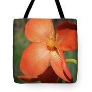 Orange Flower 1 Tote Bag
