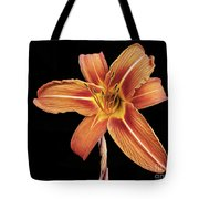 Orange,  Flower Tote Bag