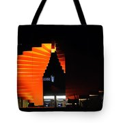 Orange Fountain Downtown Los Angeles Tote Bag