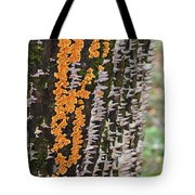 Orange Fungus Tote Bag