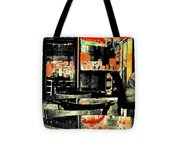 Orange Tote Bag