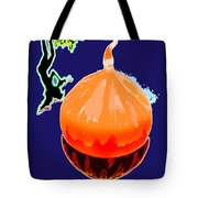 Orange Globe Tote Bag