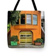 Orange House Tote Bag