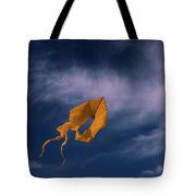 Orange Kite Tote Bag