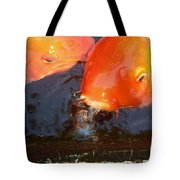 Orange Kiss Tote Bag