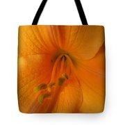 Orange Lily 4 Tote Bag