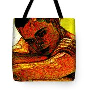 Orange Man Tote Bag