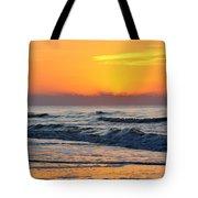 Orange Morn Tote Bag