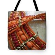 Orange Necklace Tote Bag