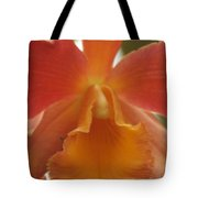Orange Orchid 2 Tote Bag