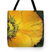 Orange Oriental Poppy Tote Bag