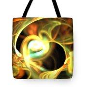 Orange Pearl Tote Bag