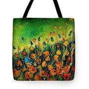 Orange Poppies 459080 Tote Bag