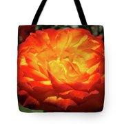 Orange Red Rose Flower Art Prints Giclee Baslee Troutman Tote Bag