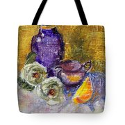 Orange Reflection Tote Bag