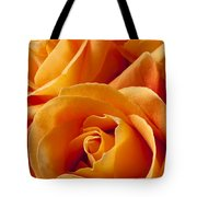 Orange Roses Tote Bag by Garry Gay
