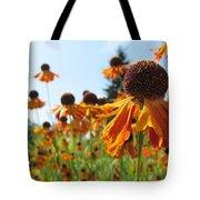 Orange Rudbeckia Tote Bag