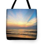 Orange Seas Tote Bag