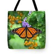 Orange Splendour Tote Bag
