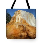 Orange Spring Mound Tote Bag