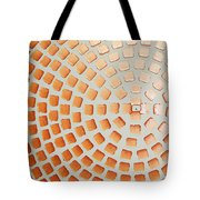 Orange Squares Tote Bag