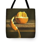 Orange Still Life Tote Bag