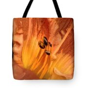 Orange Streaming Tote Bag