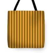 Orange Striped Pattern Design Tote Bag