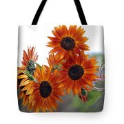 Orange Sunflower 1 Tote Bag