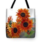 Orange Sunflower 1 Tote Bag