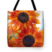 Orange Sunflower 2 Tote Bag