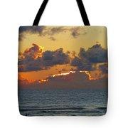 Orange Sunset Oregon Tote Bag