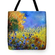 Orange Trees  Tote Bag