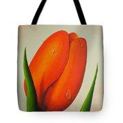 Orange Tulip Still Life Tote Bag