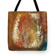 Orange Vase Tote Bag