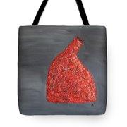 Orange Vase Tote Bag