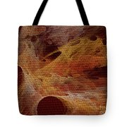 Orange With Texture Tote Bag