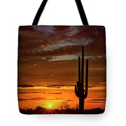 Orange Ya Beautiful Skies  Tote Bag
