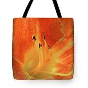 Orange-yellow Daylily Tote Bag